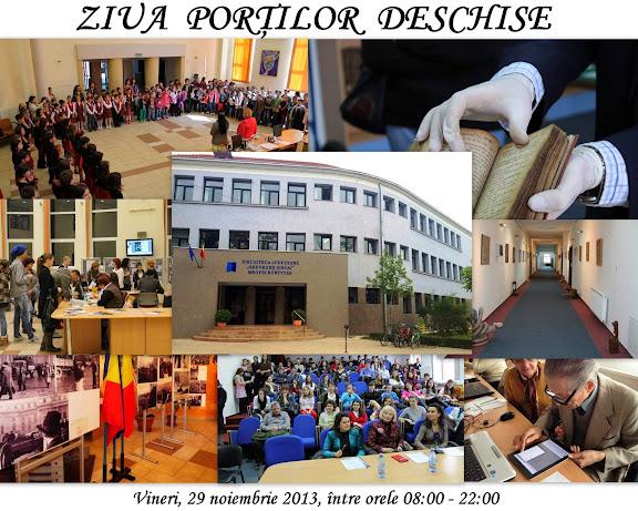 Ziua porţilor deschise la Biblioteca Judeţeană Gheorghe Şincai Bihor, noiembrie 2013 #1