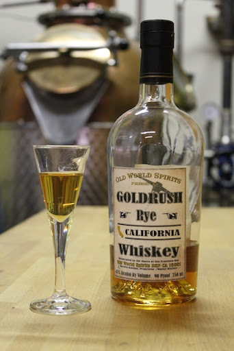 California Gold Rush Rye