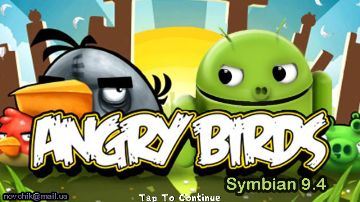 Angry Birds v0.0.1 JAVA Version S60v5 S^3 by Novchik