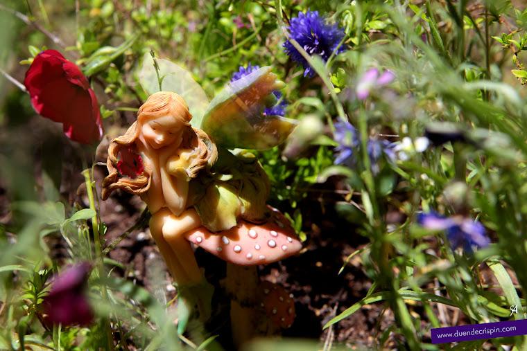 El hada de la Primavera está pensativa
