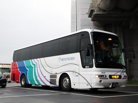 名鉄バス「どんたく号」 2608 壇ノ浦PAにて その1