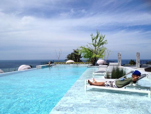 Blue Sea, Blue Sky, Blue Pool