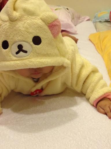 nissen 啾寶小物 小白熊 拉拉熊 寶寶媽咪 日系童裝