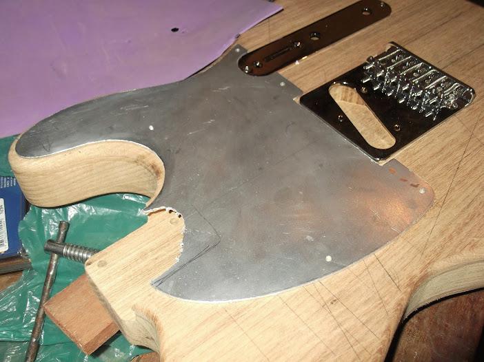Construção guitarra telecaster, meu 1º projeto bolt on. Finalizado e com vídeo - Página 2 DSCF0853