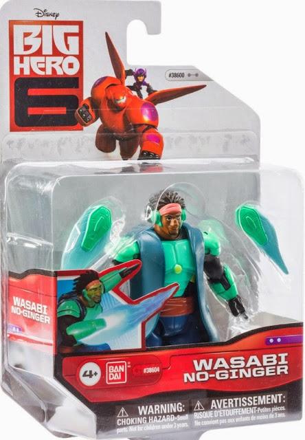 Đồ chơi Wasabi Big Hero 6 loại 4'' được sản xuất bởi hãng Bandai Nhật Bản
