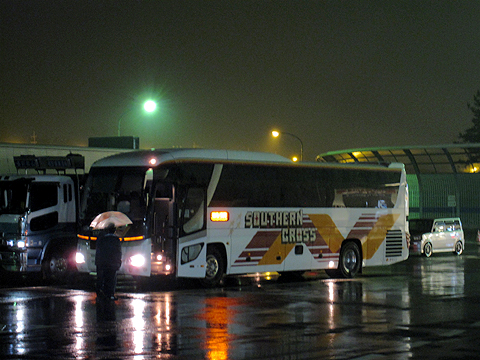 南海バス「サザンクロス」長岡・三条線 ・110 草津PAにて