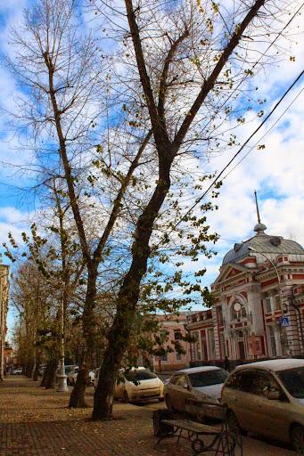 Irkutsk blue skies russia sunny