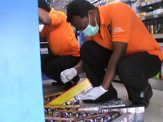 Kawanan Perampok Satroni Minimarket, Embat Uang Rp