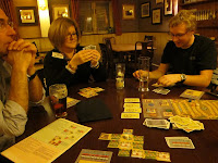 Playing Alhambra in the pub