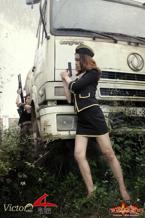 Nhóm Vật Cản công bố bộ ảnh cosplay Đột Kích mới 2