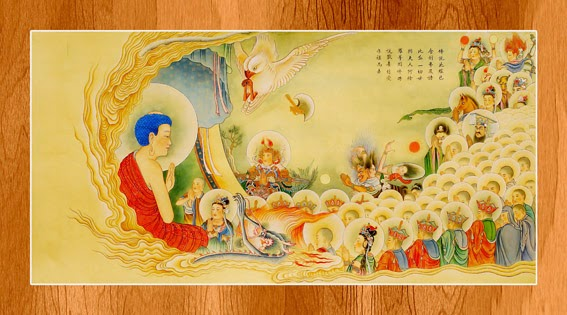 Bộ ảnh đẹp minh họa bản Kinh A Di Đà 18