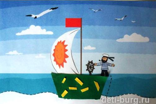 Кораблик Стихи Токмаковой