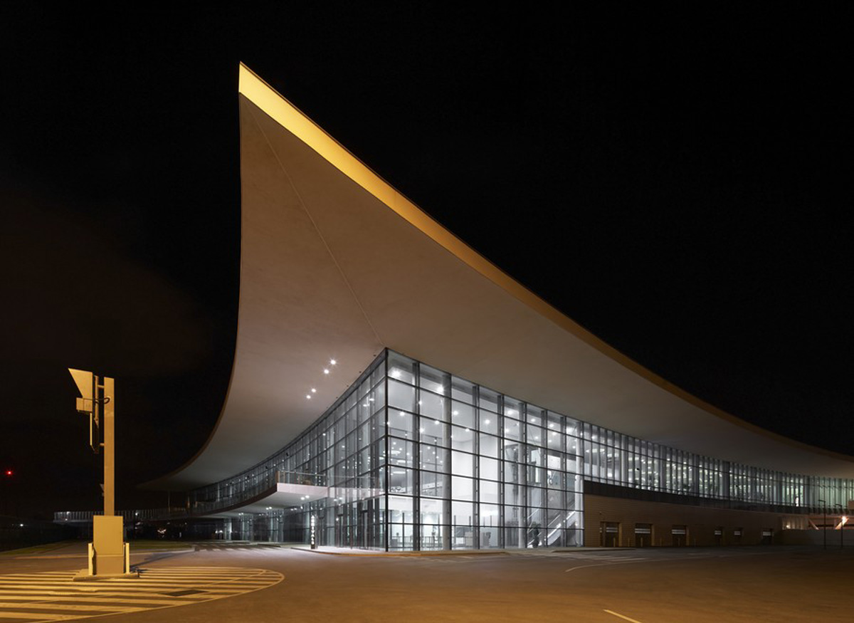 Gibraltar Airport design by 3DReid and bblur Architecture