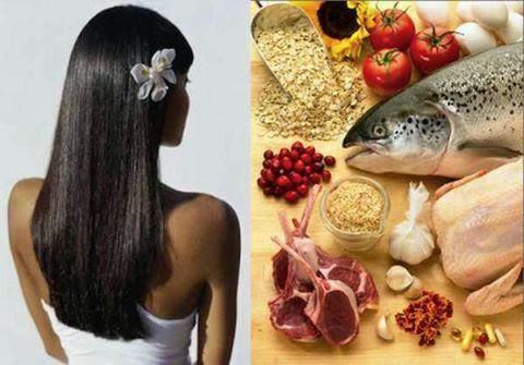 Еда против выпадения волос