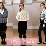 Velvet Skirt 3 Casual Ways