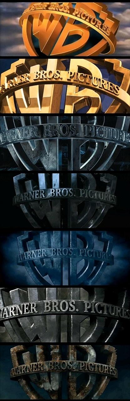 Rusting Warner Bros Logo