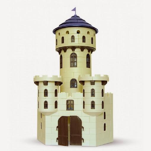 Vista completa del Torreón del Hechicero