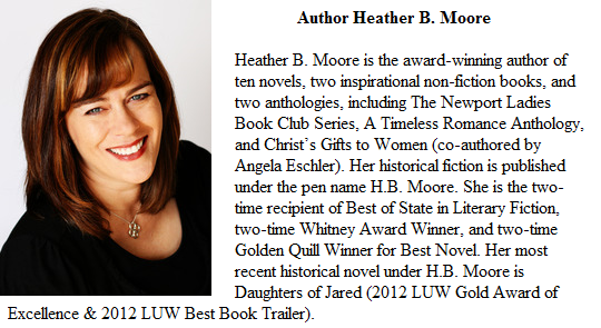 Heather B Moore author of Finding Sheba