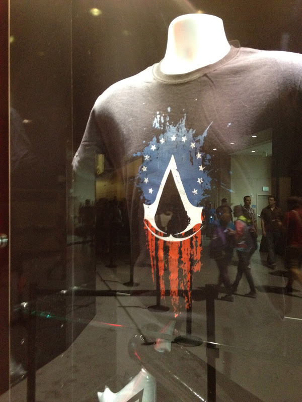 Assassins Creed shirt.