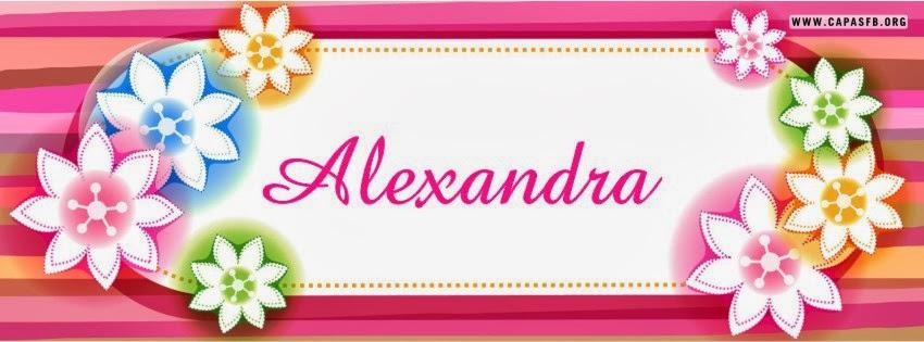 Capas para Facebook Alexandra