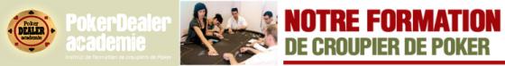 Gagnez un stage de croupier avec Poker Dealer Académie