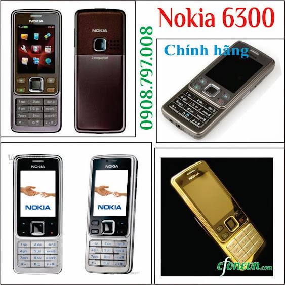 Dien thoai Nokia 6300 chinh hang tuyet pham cua Nokia