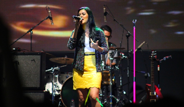 Raisa at Java Soulnation 2012