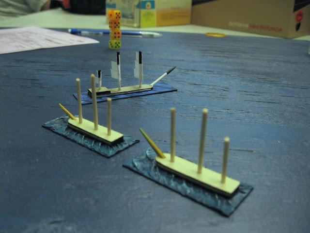Wooden Ships, Tiny Men