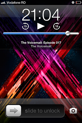 iOS 6 Podcasts on the home screen