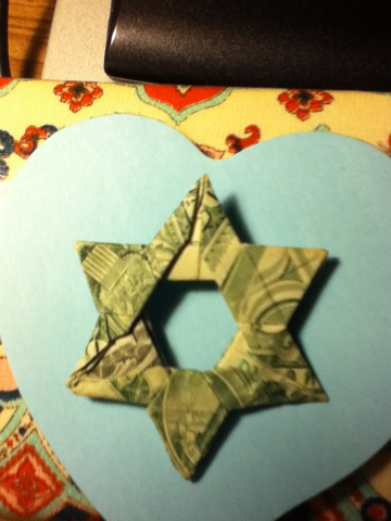 Star of David reading and origami - ESL worksheet by MarionG | 480x360