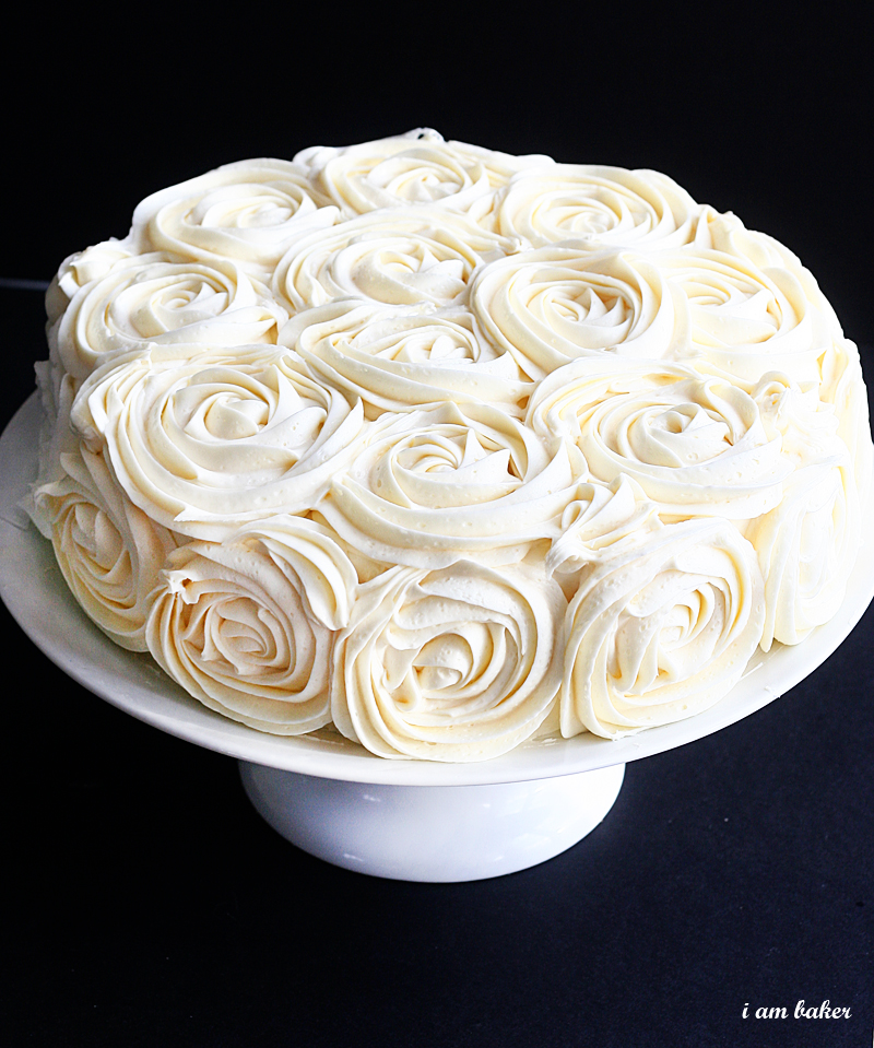 budget savvy wedding or bridal shower cake