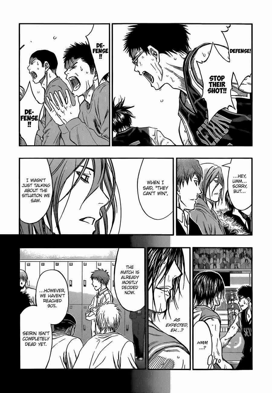 Kuroko no Basket Manga Chapter 246 - Image 15