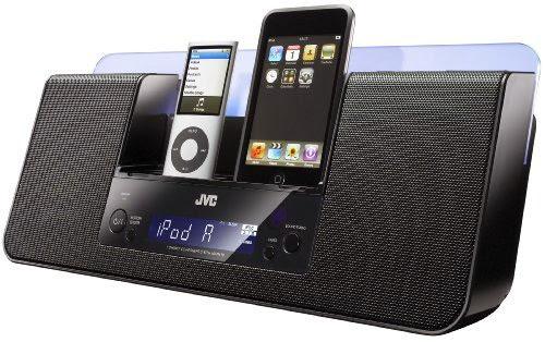JVC DUAL IPOD - IPHONE AUDIO SYSTEM
