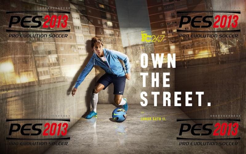 Neymar Barcelona Start Screen #2 - PES 2013