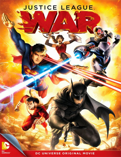 Justice League: War (2014)   [DVD-Rip]