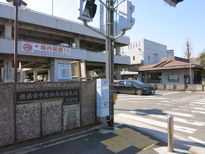 横浜中央卸売市場の入口
