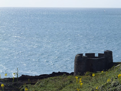 A Block House below Pendennis Castle