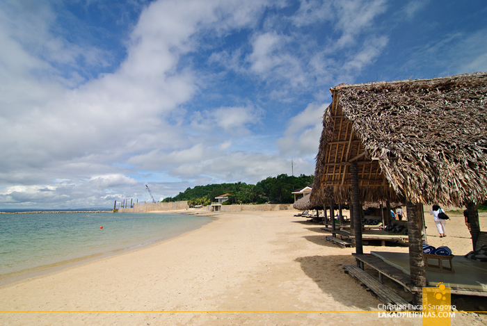The Beach at Albay's Misibis Bay
