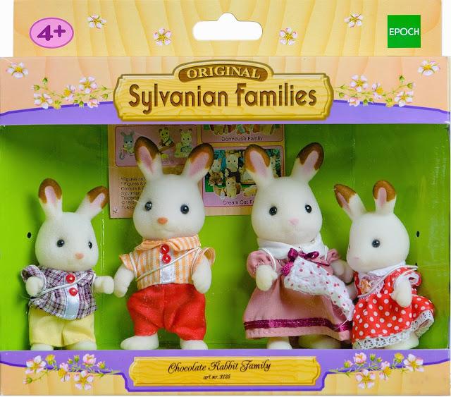 bao bì sản phẩm SF 3125 - Gia đình thỏ nâu