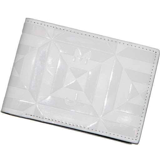 Marc by Marc Jacobs Rubix Fold Billfold White Tonal