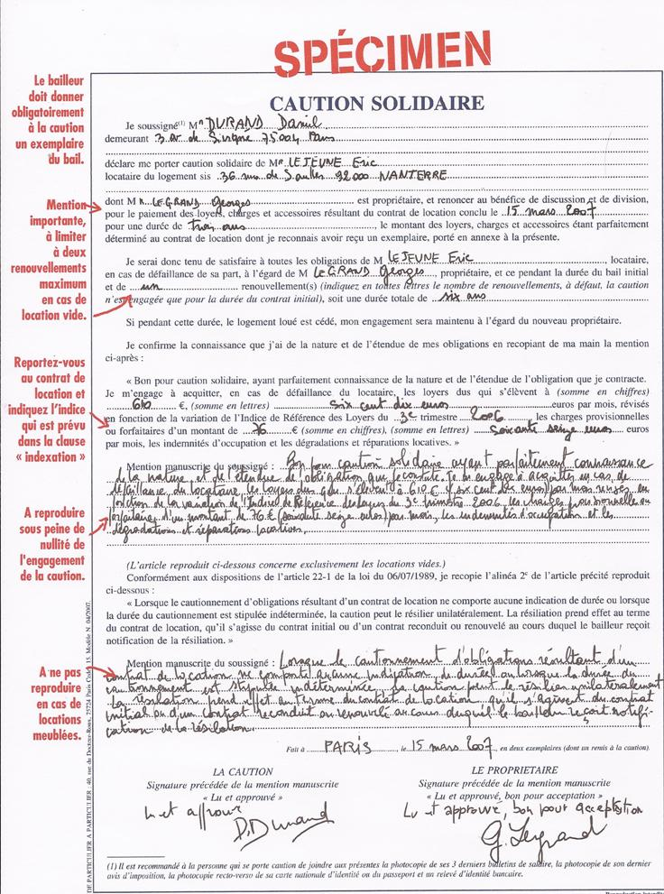 Plus riche et independant les documents n cessaires au for Bail maison location