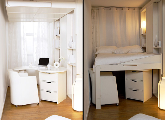 10 astuces pour optimiser l espace. Black Bedroom Furniture Sets. Home Design Ideas