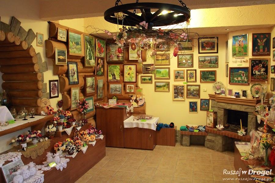 Wisła - galeria u niedźwiedzia