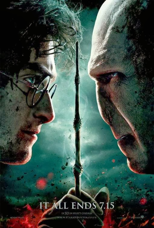 Poster Of Harry Potter And The Deathly Hallows Part 2 (2011) Full Movie Hindi Dubbed Free Download Watch Online At alldownloads4u.com
