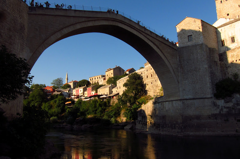 Stari Most from below