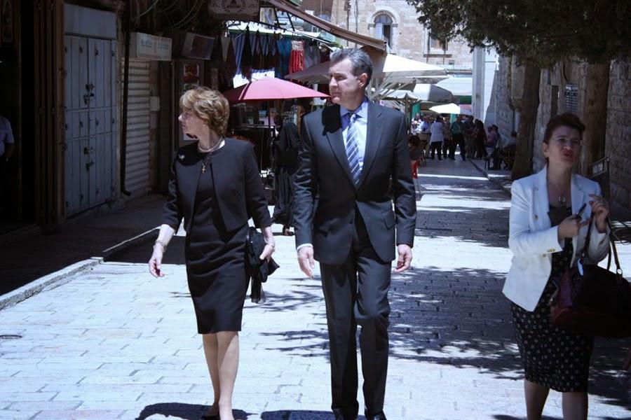 Principesa Margareta și Principele Radu, vizita regală în Israel, 30 aprilie 2014
