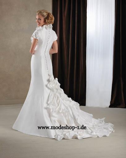 Braut Mode Brautkleid Caracas,3/4 Arm Abendkleid 2012 Lang ...