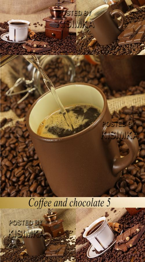 Stock Photo: Coffee and chocolate 5