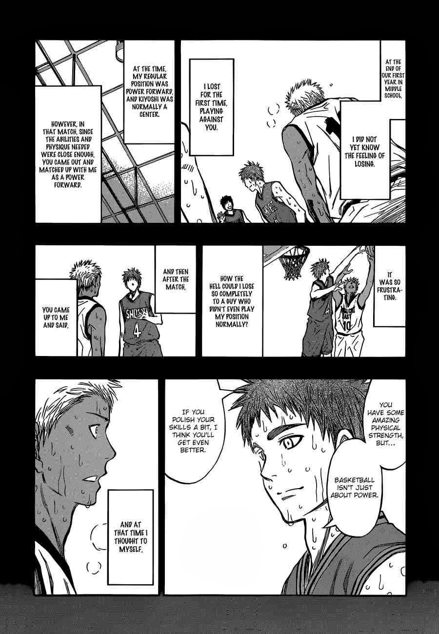 Kuroko no Basket Manga Chapter 243 - Image 16