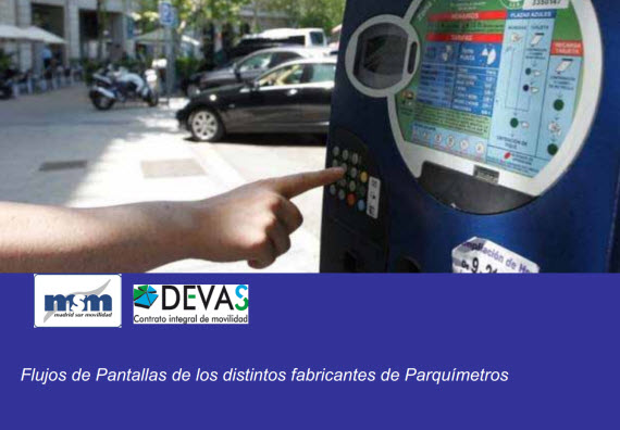 Nuevo Servicio de estacionamiento regulado (SER). Instrucciones de uso